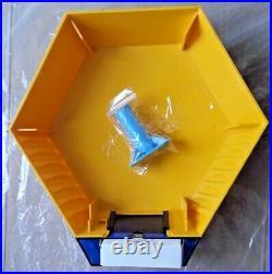Genuine ADT Twin LED Flashing Decoy Dummy Alarm Box Cover + Bracket REF DCF8