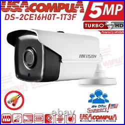Hikvision 5mp Security System 4k Cctv 16ch Hd Bullet Camera Home Security Kit