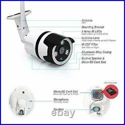 Home Security Camera Outdoor, 1080P IP66 Waterproof, 2-Way Audio Wireless Survei