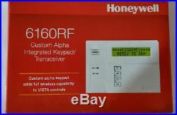 Honeywell 6160RF Alpha Integrated Keypad/Transceiver For Vista Panel NEW in Box