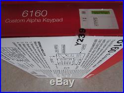 Honeywell ADT 6160 Custom Alpha Keypad Vista Alarm NIB FAST Priority Ship