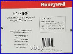 Honeywell/Ademco 6160RF Custom Alpha Integrated Keypad/Transceiver NEW
