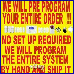 I WORKED4 ADT 14 YEARS Wireless GSM SMART Home Security Alarm System Auto Dialer
