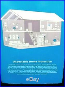 LIFESHIELD ADT Home Security System S30R0-26 18 Piece-Keypad Base-Sensors-Camera