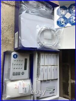 LIFESHIELD ADT Home Security System S30R0-26-R Keypad, Base, Sensors