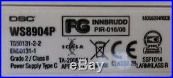 Lot of 6 DSC Wireless PIR WS8904 868MHz