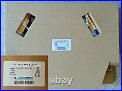 NEW 2021 ADT TWIN LED Flashing 7422 SFG Solar Decoy Bell Box Dummy Kit +Battery