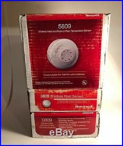 NEW ADEMCO/ADT/HONEYWELL 5809 Wireless Heat & Rate-Of-Rise Temperature Sensor