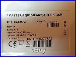 NEW ADT Visonic Powermaster 10 Control Panel GE350 SP4 Class 2 ref X3 90-205640