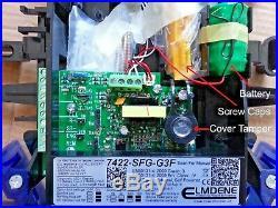 NEW STYLE ADT Grade 3 Live Alarm Siren Sounder Bell Box Model 7422 SFG G3F