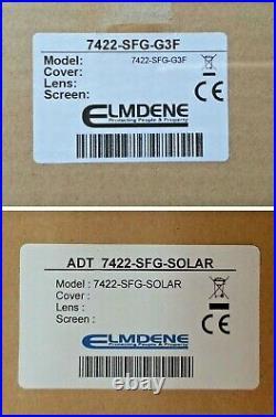 NEW STYLE ADT Grade 3 Twin LED Live Siren & Solar Decoy SET 7422-SFG-G3F / SOLAR
