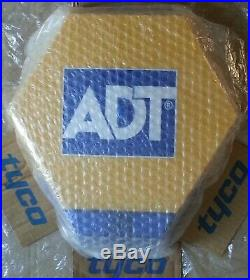 NEW STYLE ADT LED Flashing Solar Decoy Bell Box Dummy Kit + Battery(Small Mark1)