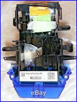 NEW STYLE ADT Solar LED Flashing Alarm Bell Box Decoy Dummy Kit + Battery (Box1)