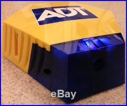 NEW STYLE ADT Solar LED Flashing Alarm Bell Box Decoy Dummy Kit + Battery New2