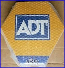 NEW STYLE ADT Solar LED Flashing Alarm Bell Box Decoy Dummy Kit + Battery Ref 3