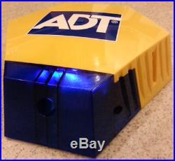 NEW STYLE ADT Solar LED Flashing Alarm Bell Box Decoy Dummy Kit + Battery Ref 4