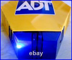 NEW STYLE ADT TWIN LED Flashing Solar Decoy Bell Box Dummy Kit + Battery (SM)