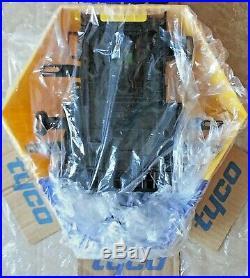 NEW STYLE ADT Twin LED Flashing Solar Decoy Bell Box Dummy Kit + Battery (New1)
