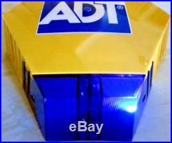 NEW STYLE ADT Twin LED Flashing Solar Decoy Bell Box Dummy Kit + Battery (New3)