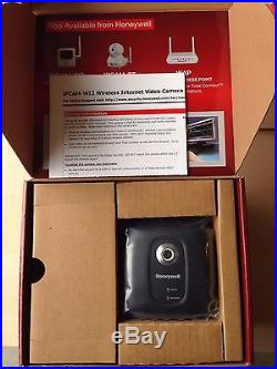 NEW! WIRELESS HONEYWELL IP CAMERA IPCAM-WI2B TOTAL CONNECT, L5100 ADT Ademco