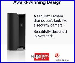 Pro Indoor Home Security Camera Black Canary Pro