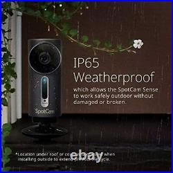 SpotCam Sense Pro Wireless Home Security Camera 1080p HD, Indoor/Outdoor, Night