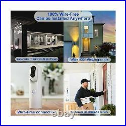 US Based Company Sticker Eye Cam Smart Home Security Camera 1080P FHD WiFi BNC