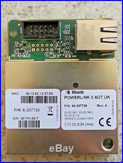Visonic Powerlink 3 ADT UK Communicator P/N 90-207729 Ref 0517412017