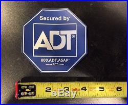 Weatherproof ADT Home Security Window and Door Stickers
