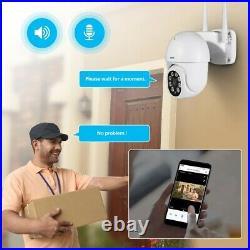 Wireless 1080P WIFI IP Camera Outdoor CCTV HD PTZ Smart Home Security IR 3MP
