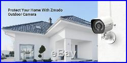 Zmodo Outdoor Security Camera (4 Pack), 1080p Full HD Wireless Cameras for Home